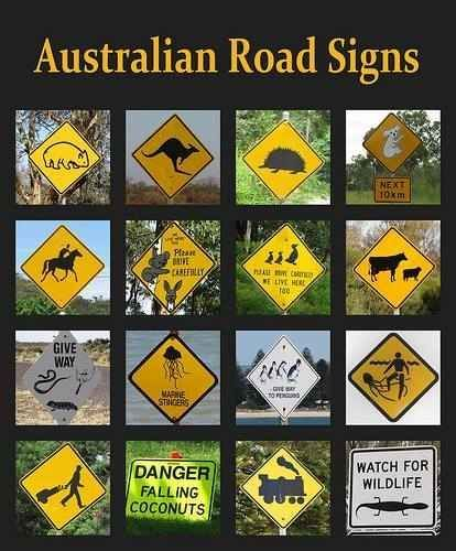 Signs you'll only see in Australia