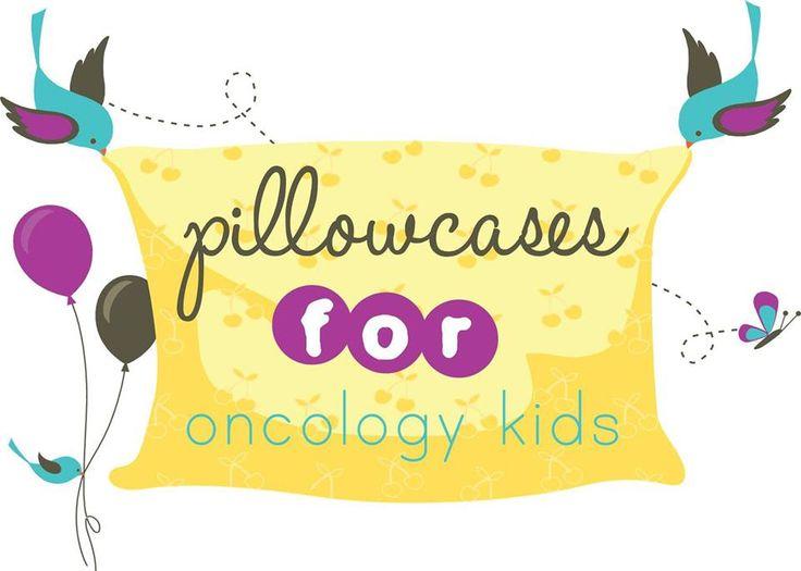 Pillowcases for Oncology Kids  September Logo .....going yellow for Childhood Cancer Awareness