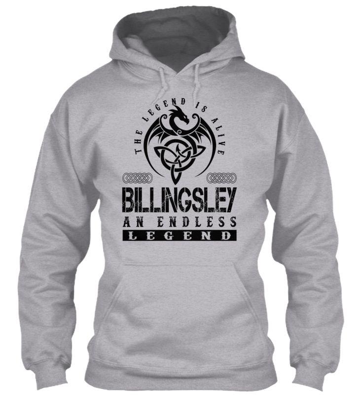 BILLINGSLEY - Legends Alive #Billingsley