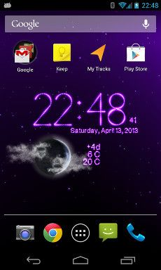 7 best Weather Clock & Countdowns Live wallpaper images on Pinterest | App, Apps and Clock