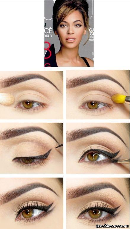 Стрелки на глазах: как рисовать