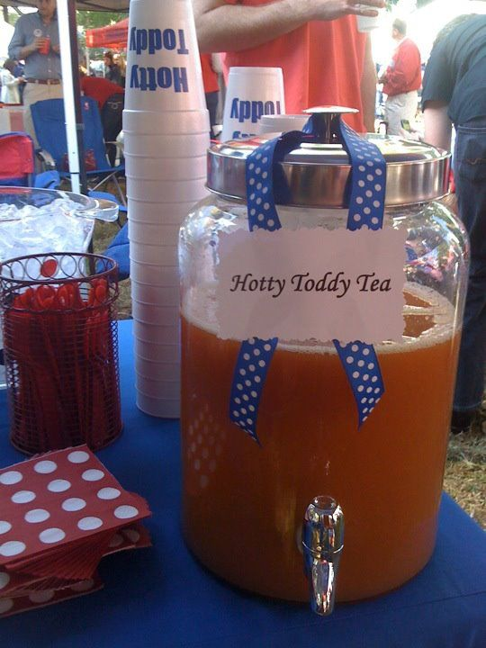 The Grove - Ole Miss  Cute Tea Bucket!