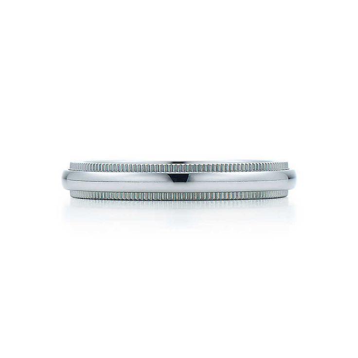 Tiffany Co Platinum 18k Gold 3mm Milgrain Wedding Band: 25+ Best Ideas About Tiffany Wedding Rings On Pinterest