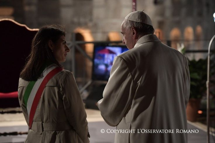 Good Friday - Way of the Cross - Activities of the Holy Father Pope Francis | Vatican.va