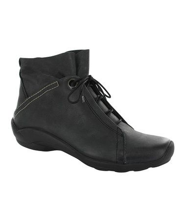 Take a look at this Black Diana Ankle Boot - Women by Wolky on #zulily