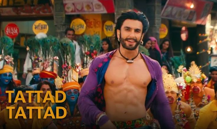 Stud's in the house.  Tattad Tattad (Ramji Ki Chal) - Full Song - Goliyon Ki Rasleela Ram-leela