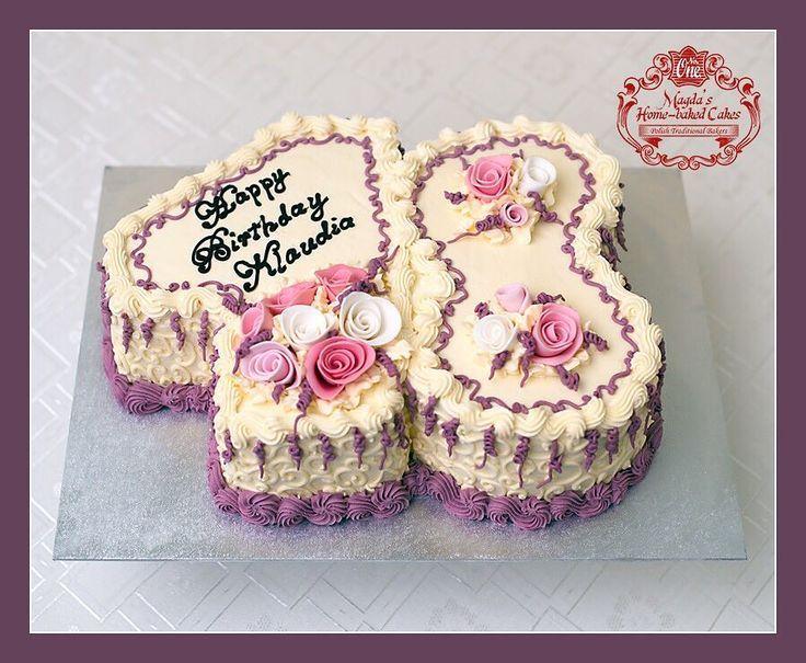 Tort śmietankowo - owocowy. Zapraszam do mojej galerii - kliknij i polub na Facebook'u http://ift.tt/2iOM9eB http://ift.tt/2iUmGRz #BirthdayCakeSmash #MagdasCakes #northampton