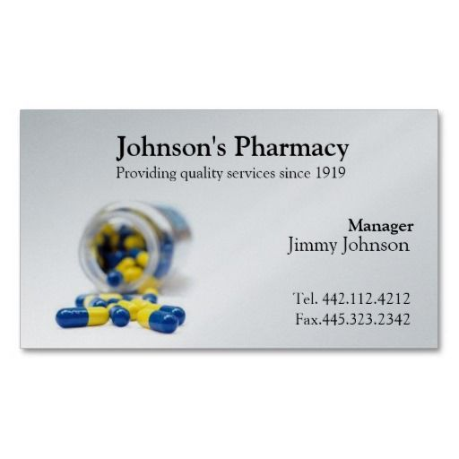 185 best pharmacist business cards images on pinterest