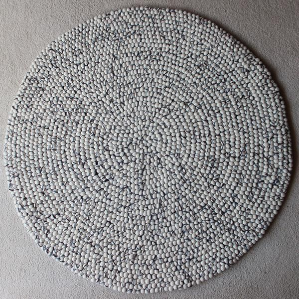 Natural Stone Felt Ball Rug Is One Of The Most Popular Felt Ball Rug Designs. We Will Beat The Price Of Any Handmade Felt Ball Rug Sold In Australia.