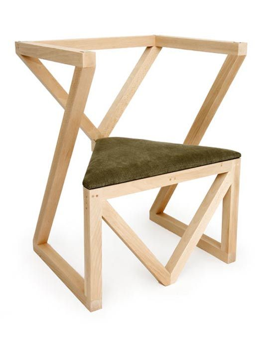 Unique wood chair designs images for 80s chair design