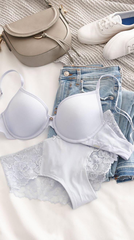 La Vie en Rose   Lace Insert Bikini Panty