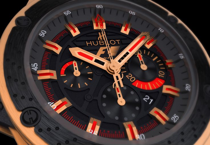Hublot - Big Bang King Power F1 - 3D rendering - 3D modelling #hublotwatch