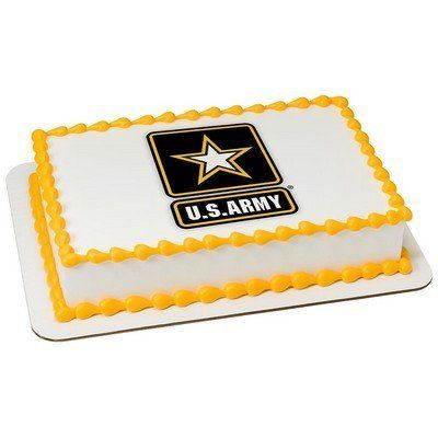 6' Round U.S. Army Edible Image® Cake Topper *** You can get more details by clicking on the image.