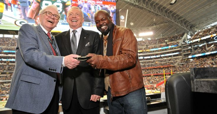 From actors to presidents, everyone wants to watch a Cowboys game from Jerry Jones' suite