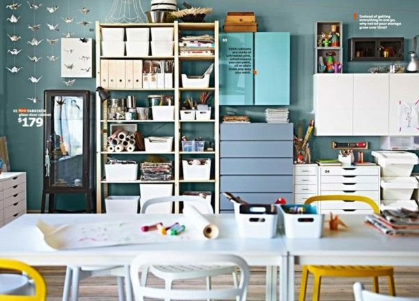 IKEA catalog trends ideas inspiration shelf green