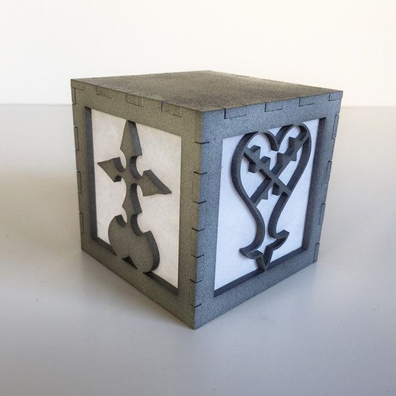 Kingdom Hearts Heartless and Nobody light box by BurntPixels