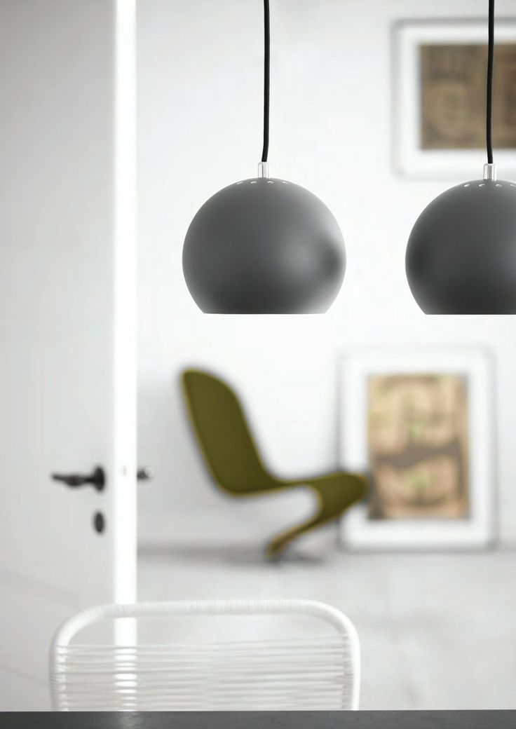 Frandsen Ball Pendant Light Matt Finish