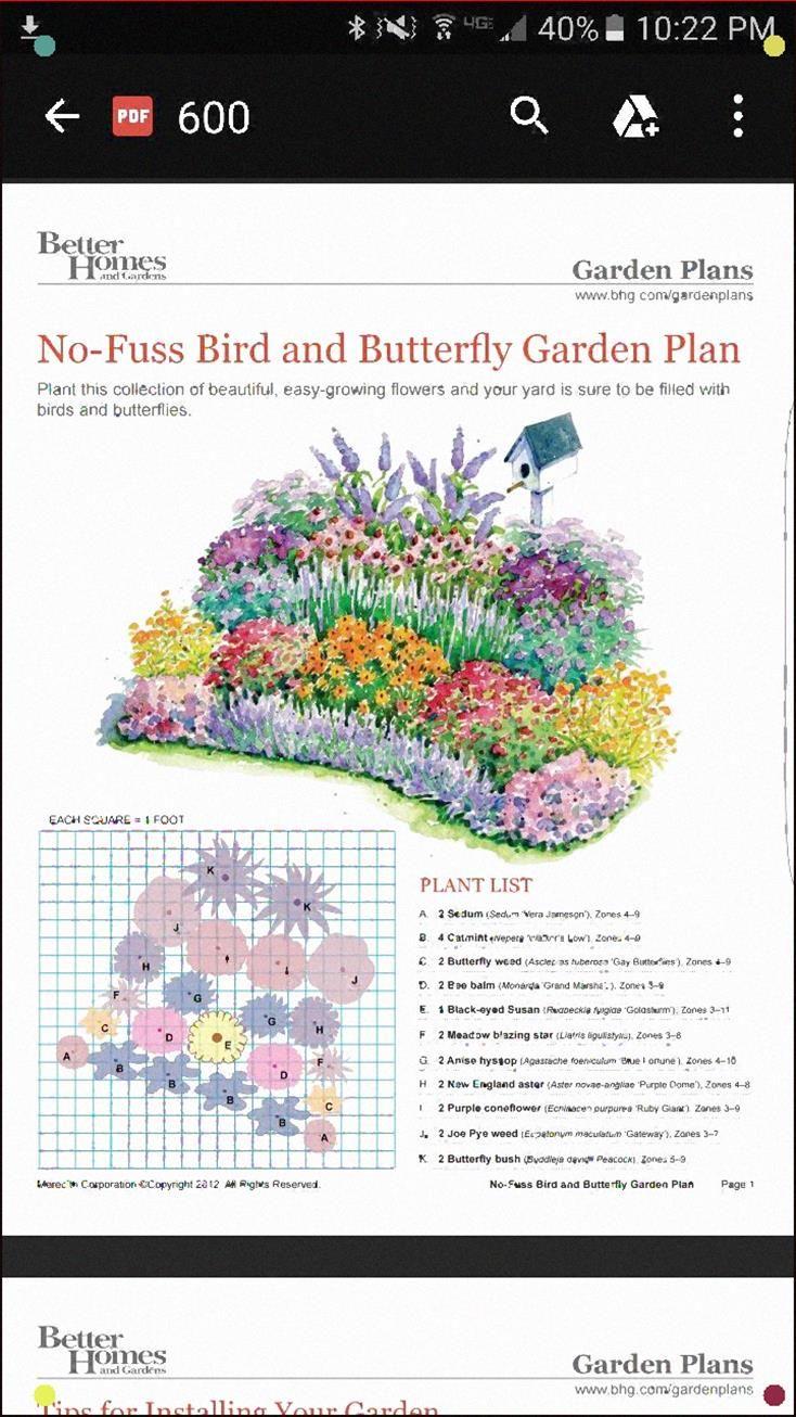 Butterfly Garden Butterfly Garden Design Flower Garden Plans Butterfly Garden