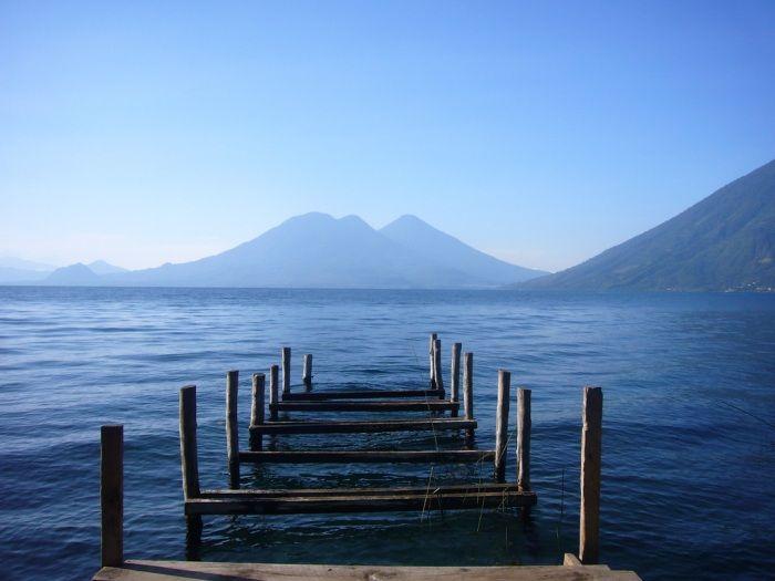 Озеро Атитлан Место, где радуга обретает цвета_Гватемала