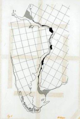 Mapa placas computadoras de posguerra
