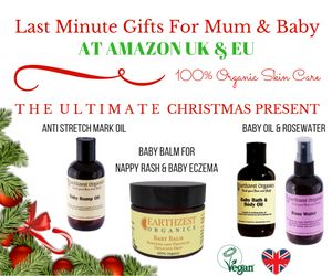 Looking for last minute Christmas Presents for a mum-to-be or a new mum?  100% Organic All natural & handmade in Britain. Anti Stretch Marks Oil, Baby Oil, Baby Balm and Rosewater, ideal Xmas gifts! Available on Amazon UK & EU : https://www.amazon.co.uk/l/9942019031  #ChristmasPresents #Xmas #Christmas  #Christmasgifts #gifts #presents #forwomen #EarthzestOrganics #mumskincare, #organicskincare #handmade in Britain #babyskincare #organicskincareproducts #naturalskincare #rosewater #love…