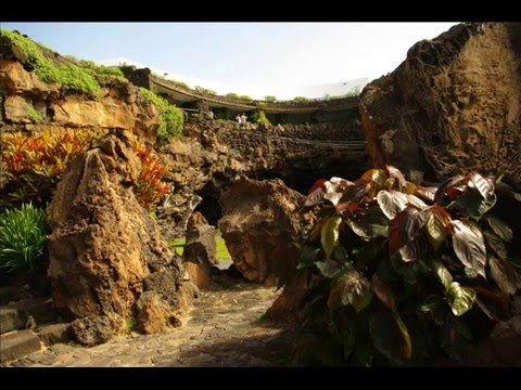 Fotos de: Islas Canarias - Lanzarote - Jameos del agua