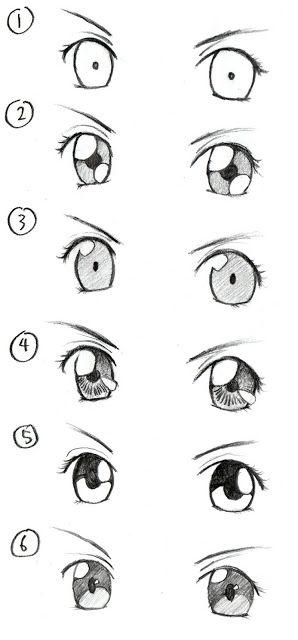 JohnnyBro's How To Draw Manga: Drawing Manga Eyes (Part II)
