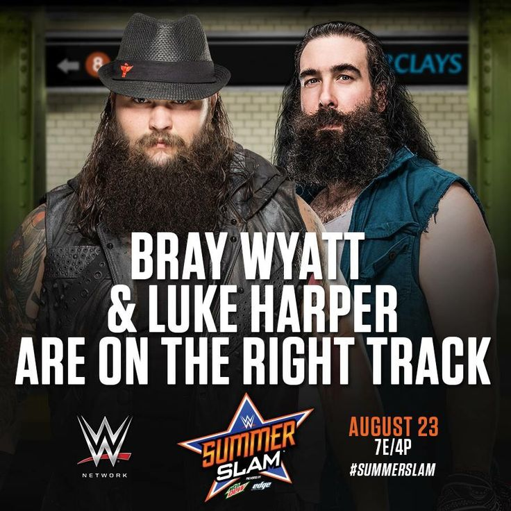 WWE SummerSlam 2015: Bray Wyatt & Luke Harper are on the right track