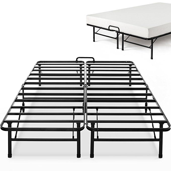 Zinus 14 Inch Smartbase Select With Mattress Stopper Mattress Foundation Platform Bed Frame Box Spring Platform Bed Frame Mattress Foundations Bed Frame