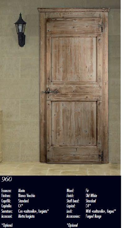 Modelo 960 serie antiqva puertas de interior indoors - Puertas rusticas de interior ...