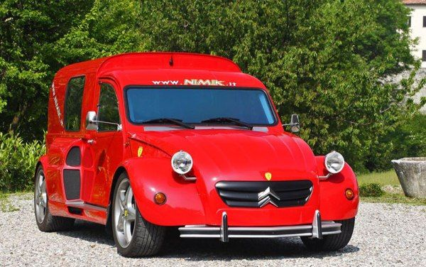 This Ferrari 355/Citroen 2CV Hybrid Is Truly Epic