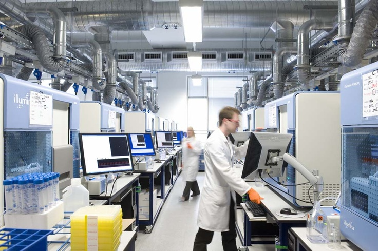 The Sanger Institute Sequencing Centre.