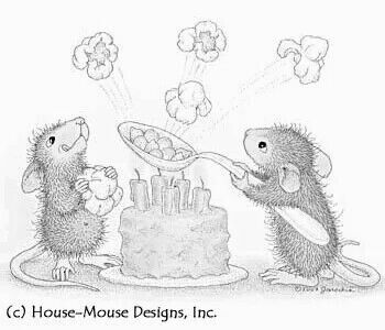 House Mouse, Popcorn time!                                                                                                                                                      More