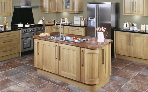 what floors go in country kitchen - Google Search