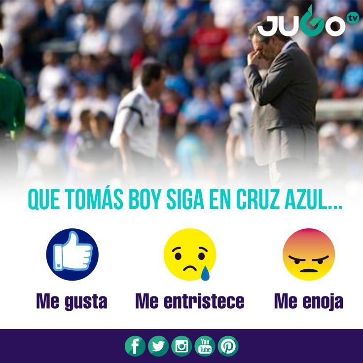 ¿Qué opinan aficionados de CRUZ AZUL FUTBOL CLUB A.C.?  #somosJUGOtv