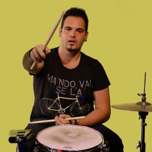 Hello, Drumming is a real part of my life, and I like to do it - Marco Verducci, drummer I RadioAut #MyMVision #MyMusicVision #community #musicians