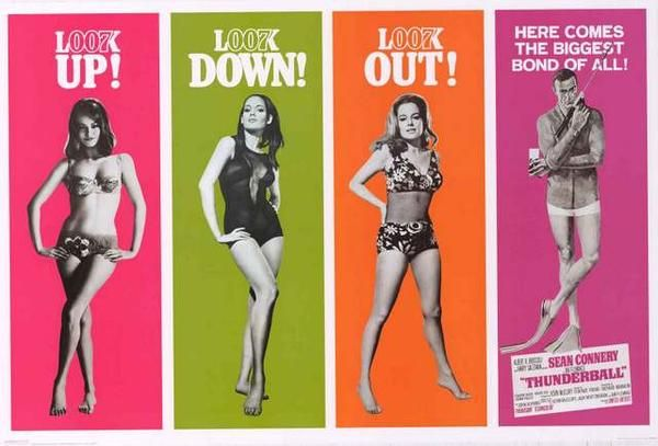 James Bond Thunderball Poster 24x36 – BananaRoad