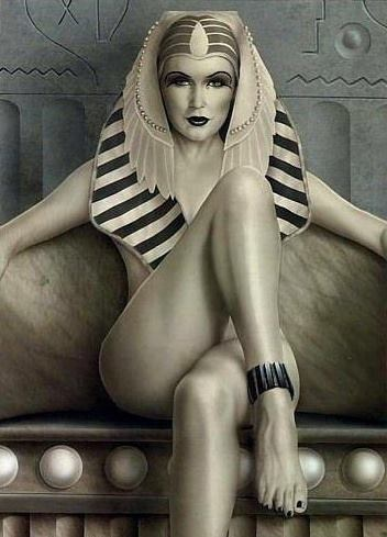 Egyptians wore eyeliner in belief it would ward off evil spirits.