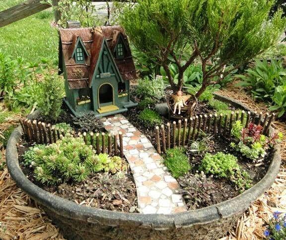 Decoração: Jardim das Fadas | O Novo Preto por Ianarã Bernardino