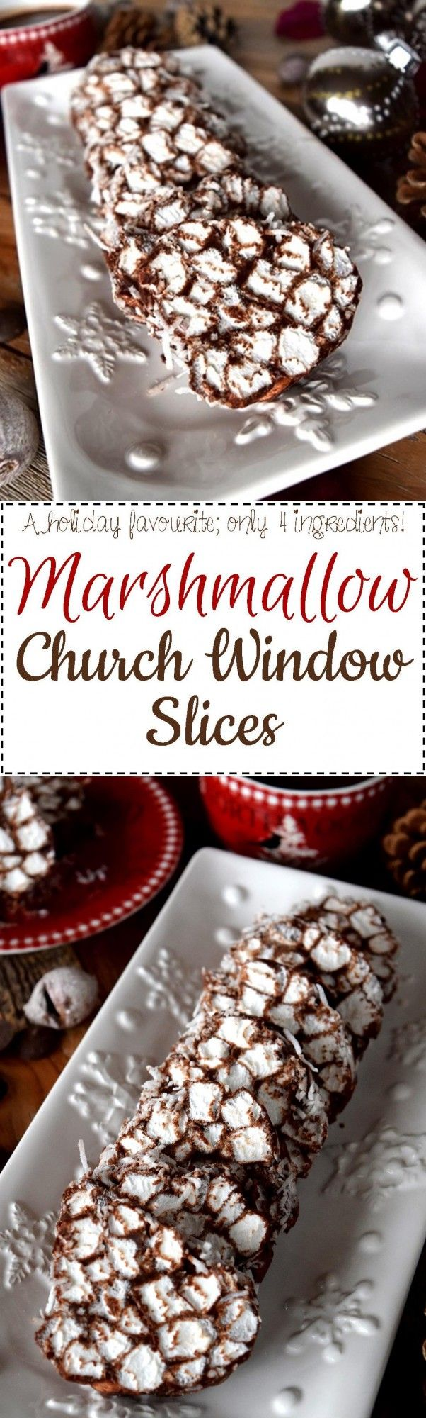 A classic Christmastime treat, Marshmallow Church Window Slices were a childhood favourite.  Only four ingredients bring this sweet treat to life! Sit back and let me tell you about the easiest recipe you can possibly make to serve your guests…
