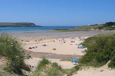 Beach at Daymer Bay, Cornwall