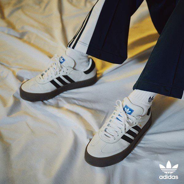 the latest 7d4a4 ba9da  PHOTO  180607 BLACKPINK Rosé for Adidas Originals.  BLACKPINK  ROSÉ   SAMBAROSE  ADIDAS
