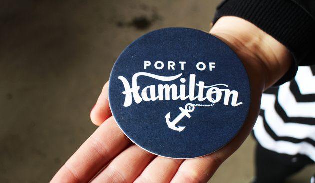 hamilton small fries | Arts and Science Brewery | Hamilton, Ontario | Port of Hamilton coaster #HamOnt