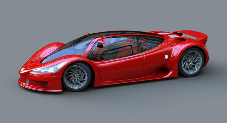 Peugeot 9009 Stunning Supercar Concept – automotive99.com