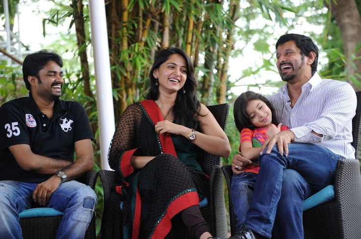 Baby Sara with Deiva Thirumagal Team
