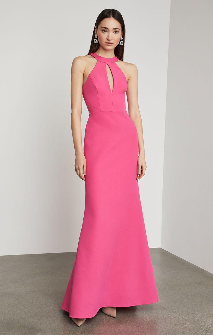 Racerback Cutout Halter Gown Wedding Guest Dress Dresses Guest Dresses [ 1144 x 728 Pixel ]