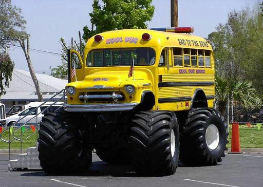 I wanna be a school bus driver (but only if it's like this one)