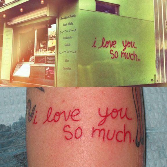 i love you so much Austin Tattoo By Jon Reed, All Saints Tattoo Austin TX