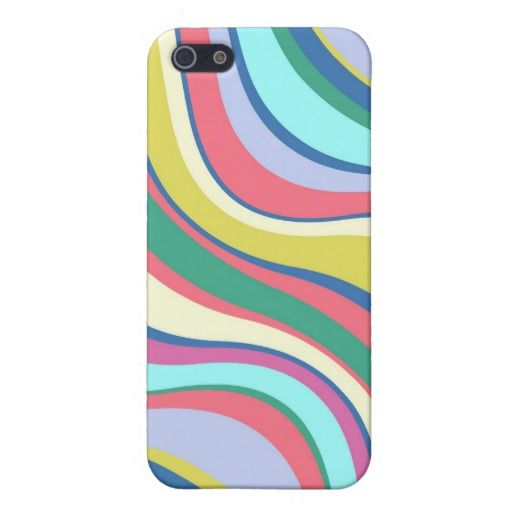 Modern Eames Waves 2 iPhone 5 Case