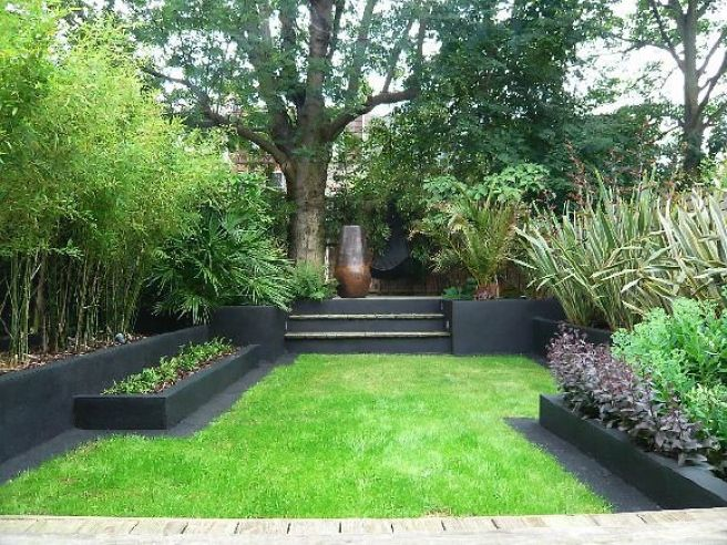 Stylishly modernised contemporary garden.
